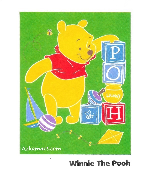 jual beli selimut internal karakter anak winnie the pooh