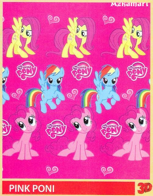 jual beli selimut bulu halus lembut paulina gambar pink pony