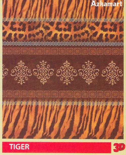 jual beli selimut bulu halus lembut paulina gambar macan